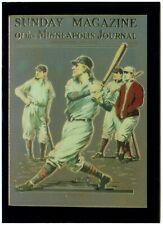 C2632 Dimanche magazine #16 PHIL RIZZUTO/'S Baseball 1995 COMIC IMAGES Trade Card