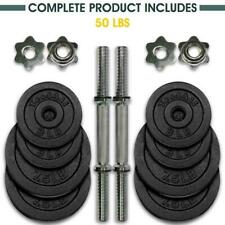 Yes4All Adjustable Dumbbells - 50 lb Dumbbell Weights (Pair) 50lbs