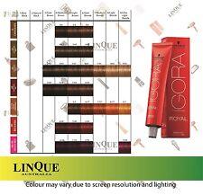 Schwarzkopf Igora Royal Permanent Hair Colour Colouring Cream Tint 60mL - part 2