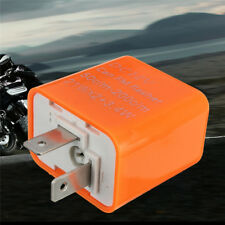 2 Pin Speed Adjustable LED Indicator Flasher Relay Resistor Fix Motorcycle  uk
