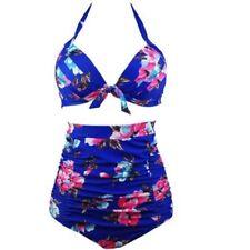 e1bb74736cc Plus Size High Waist Bikini Swimwear for Women for sale   eBay