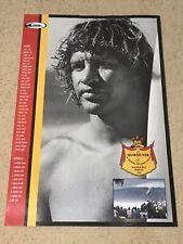 QUIKSILVER EDDIE AIKAU WOULD GO 1992 WAIMEA BAY HAWAII SUPER RARE & OOP POSTER