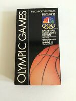 OLYMPIC GAMES Barcelona '92 Basketball Collector's Edition VHS