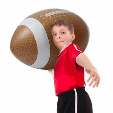 GoFloats 4' Giant Inflatable Football - Fun For All Ages!
