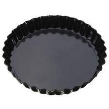 Flan Tin Tart Pie Pan Fluted Cake Baking Tray Non Stick Loose Base Mold 6'' N2C