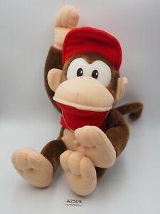 """Diddy Kong A2509 Super Donkey Kong DK Banpresto DX 2000 Plush 11"""" Toy Doll Japan"""