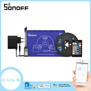 SONOFF L1 Lite WIFI Smart LED Light Strip Neon Kit 5M 16.4ft for Alexa eWelink