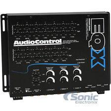 AudioControl EQX Black Blue 2 Channel Trunk-Mount 13 Band Equalizer w/ Crossover