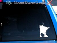 Minnesota Wild Turkey Hunting State Vinyl Decal Sticker/ Color-HIGH QUALITY