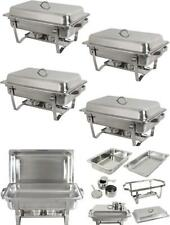Chafing Dish Buffet Set 8 Qt Stainless Steel Chafer Catering Server Warming Tray