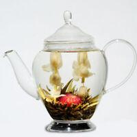 16 Stück Blooming Tea BlumenTee-Teeblume Fortune Ball Neue Flowering S8P6