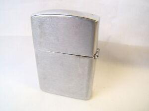 Vintage Golden Bell Brushed Chrome Flip Top Lighter Sparking Well