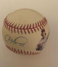 Cole Hamels Philadelphia Phillies Game Used Autographed Ball