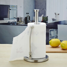 Paper Towel Holder Stainless Steel Tissue Roll Holder Stand Kitchen Paper Rack