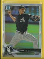 Dylan Cease RC  2018 Bowman Draft Chrome Prospects Refractors White Sox MLB