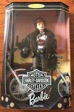 Barbie-Harley Davidson-1998-Nrfb