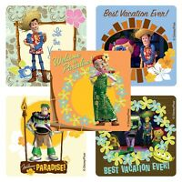 TOY STORY Stickers x 5 -Woody/Buzz - Party Supplies, Favours, Hawaii Stickers