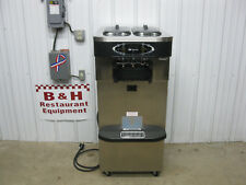 Taylor Crown C723-33 Soft Serve Twin Twist Ice Cream Machine 2012 w/ ADA Cart