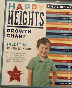 Kids Growth Chart Boys New Fun Gift Children Babyshower