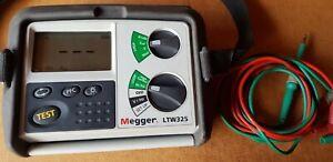 Megger LTW325 Earth loop impedance tester