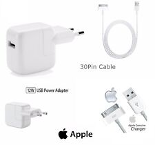 Alimentatore Originale Apple Caricabatteria A1401 Cavo Per iPhone iPad iPod