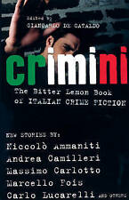 CRIMINI: The Bitter Lemon Book of Italian Crime Fiction, 1904738265, New Book