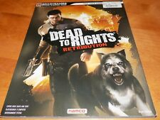 DEAD TO RIGHTS RETRIBUTION BRADYGAME Official Game Strategy Guide XBOX SONY Book