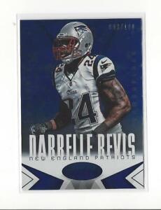 2014 Certified Camo Blue #59 Darrelle Revis Patriots /100