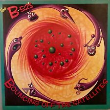 "THE B-52's ""Bouncing Off The Satellites"" Vinyl LP - 1986 WB 9 25504-1  VG+ / EX"