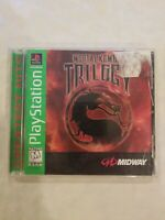 PlayStation Mortal Kombat Trilogy Greatest Hits Sony Original PS1 Tested Works