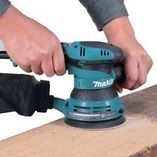 Makita 5 Random Orbital Disc Sander Polisher Powerful Sanding Adjustable Handle