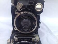"vintage ""Compur"" folding camera by F. Deckel w. Jos. Schneider lens"