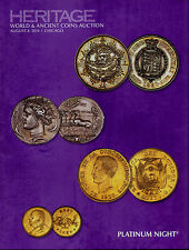 Heritage Auctions ANA World and Ancient Coins Platinum Night   2014 August 8