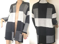 Kaleidoscope~ Edge To Edge Cardigan In Black/Checks~ size 10/12 ~rrp £45~ (R25)