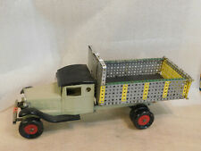 "Vintage 1930's Pressed Steel Customized Dump Truck Steelcraft Playboy  24"" long"