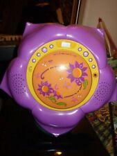Household home decor girls kids Disney Tinkerbell flower shaped radio/CD player