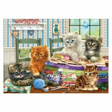 Cat DIY 5D Full Drill Diamond Painting Embroidery Cross Stitch Kit Rhinestone