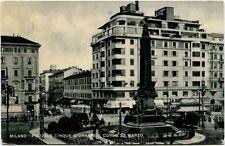 1946 Milano Piazzale Cinque Giornate Corso 22 Marzo Tram - FP B/N VG ANIM