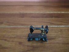 Dollhouse Miniature Singer Sewing Machine Metal