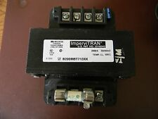 MICRON CONTROL TRANSFORMER B200MBT713XK IMPERVITRAN 200VA  USED