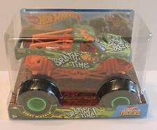 2018 HOT WHEELS MONSTER TRUCK GIANT WHEELS COLLECTION - SPLATTER TIME 1:24