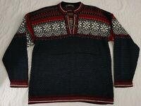 Caamano 100% Alpaca Sweater Woman's sz XL Warm Heavy Sweater Alpaca Fleece Wool