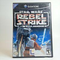 Star Wars Rebel Strike Rogue Squadron III Nintendo GameCube LOOK Free Shipping