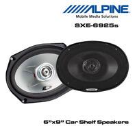 "Alpine SXE-6925s - 6""x9"" 6x9 2-Way Car Coaxial Speakers 560W Total Power"