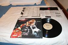 Metal MC LP with Original Record  Company  & Original Lyric Sheet Sleeve-BORN TO