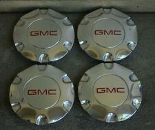 "GMC ENVOY / ENVOY XL 2005-2009 POLISHED CENTER CAPS - LotO'4 for 17"" rims"