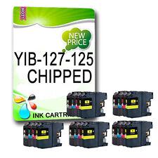 20Chipped Ink Cartridge Replace For DCPJ4110DW MFCJ4410DW MFCJ4510DW LC127 LC125