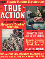 True Action Mario Puzo BACK ROOM BRUNETTE Captive Blondes of Penal Island NOREM