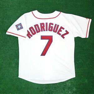Ivan Rodriguez Texas Rangers 1995 Home Men's White Jersey w/ Team Patch Medium