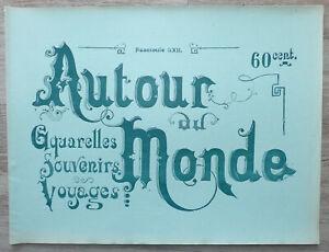 Autour du Monde. Aquarelles, Souvenirs de Voyages Tong-King Tonkin vers 1880